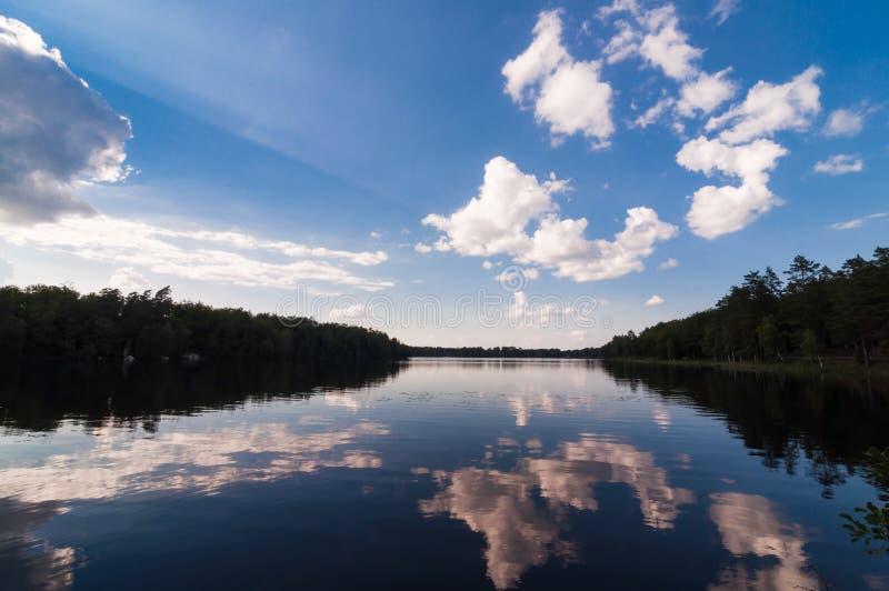 Lago Halen fotografia stock