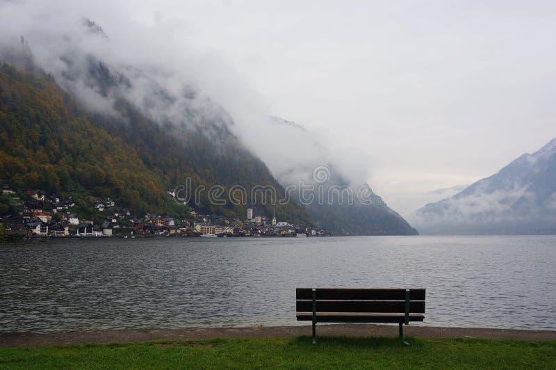 Lago Hallstatt fotografía de archivo