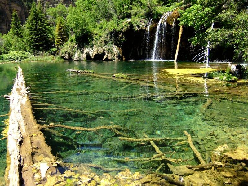Lago hanging, barranco de Glenwood, Colorado fotos de archivo libres de regalías