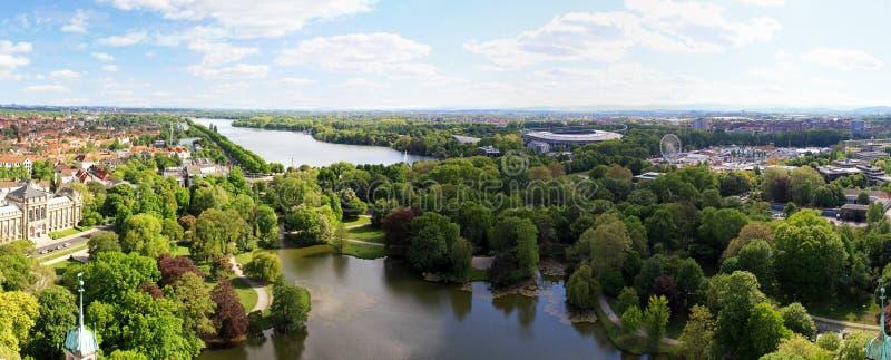 Lago Hannover fotografia stock