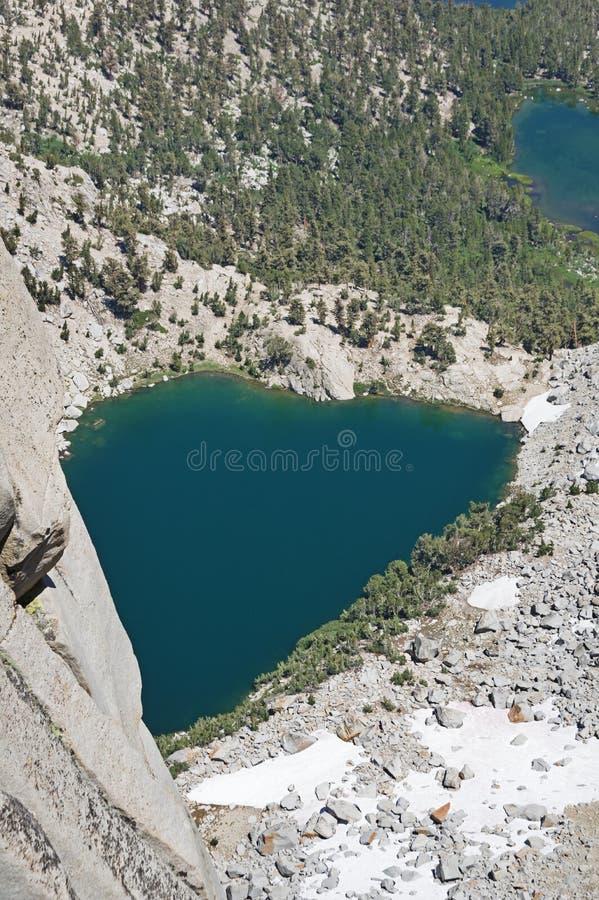 Lago heart imagen de archivo