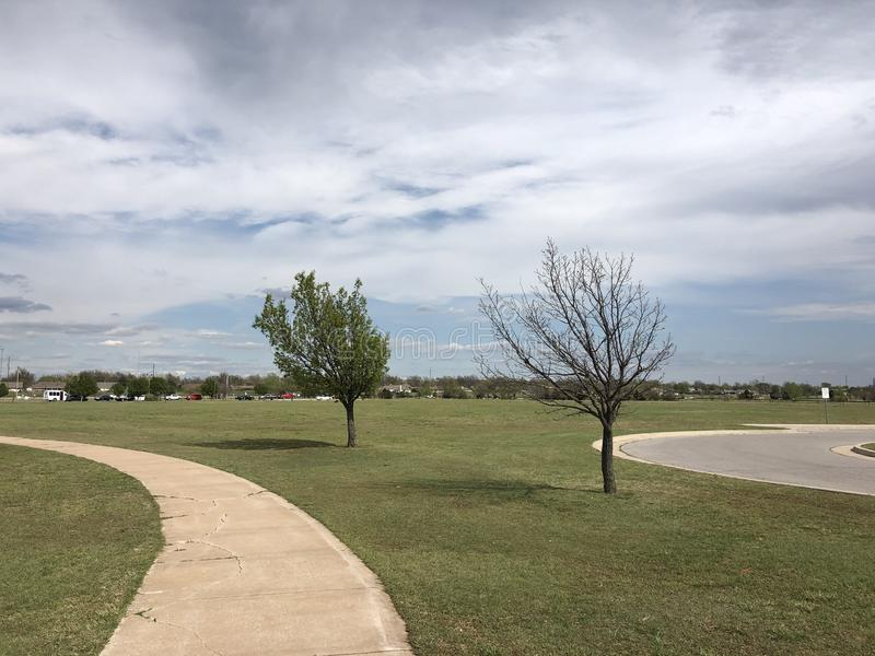 Lago Hefner, Oklahoma City imagenes de archivo