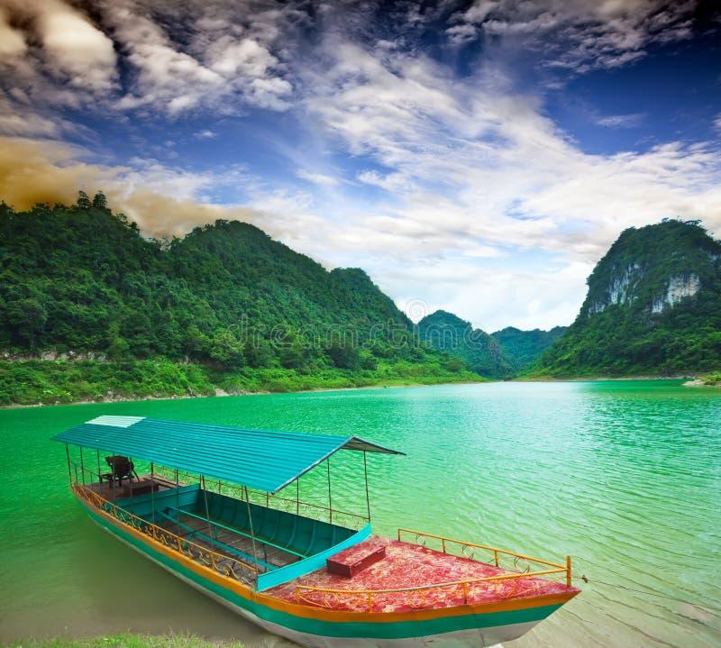 Lago hen de Thang fotografia de stock