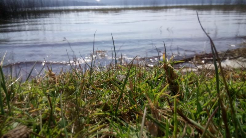 Lago hermoso foto de archivo