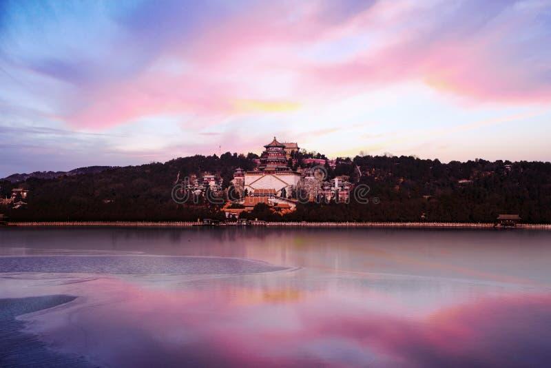 Lago hermoso kunming en el palacio de verano imágenes de archivo libres de regalías