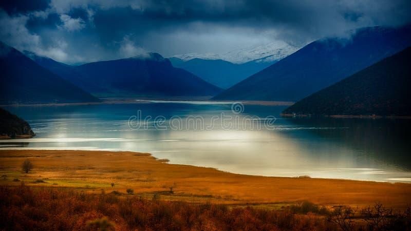 Lago highlands fotos de archivo