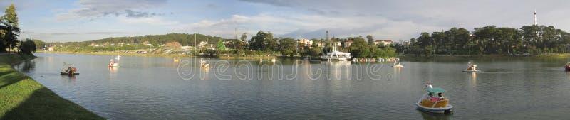 Lago ho Xuan Huong imagenes de archivo