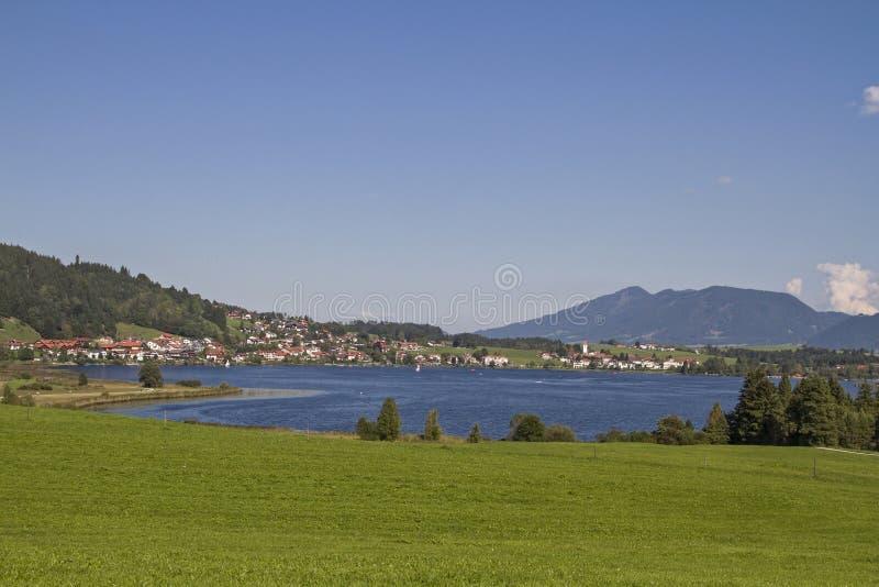 Download Lago Hopfensee foto de archivo. Imagen de pies, iglesia - 44854114