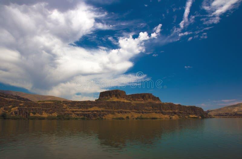 Lago Horsethief foto de stock