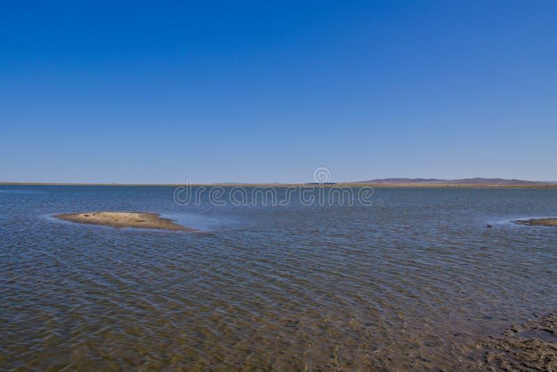 Lago Hulun fotos de stock royalty free