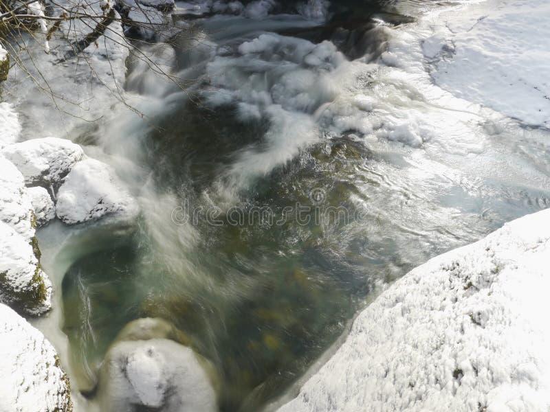 Lago ice fotografia stock libera da diritti