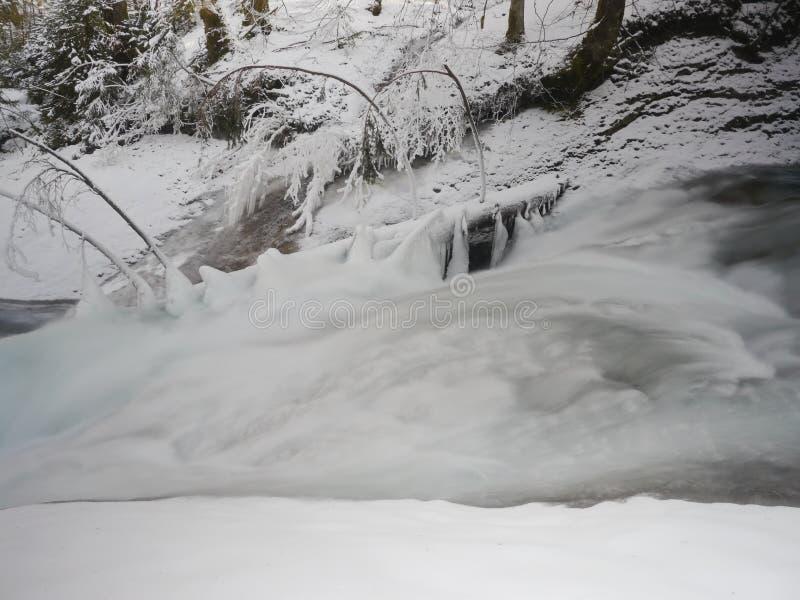 Lago ice fotografie stock libere da diritti