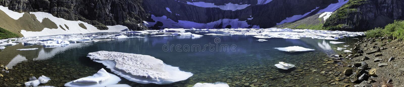 Lago iceberg imagens de stock