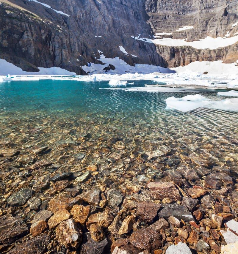 Lago iceberg imagens de stock royalty free