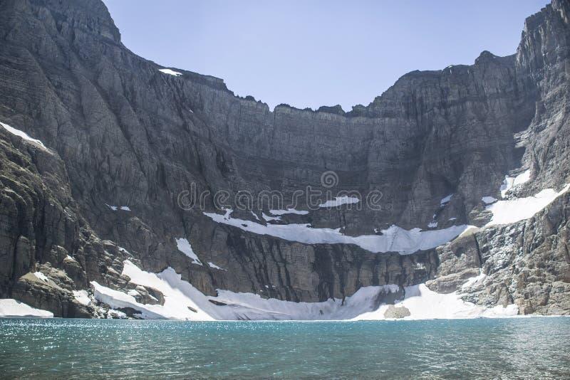 Lago iceberg - parque nacional de geleira fotos de stock