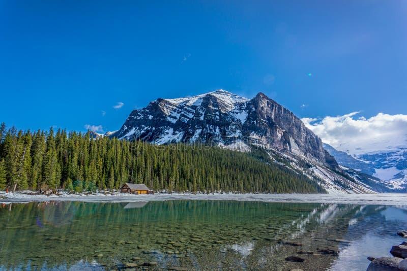 Lago Icefields fotografia de stock royalty free