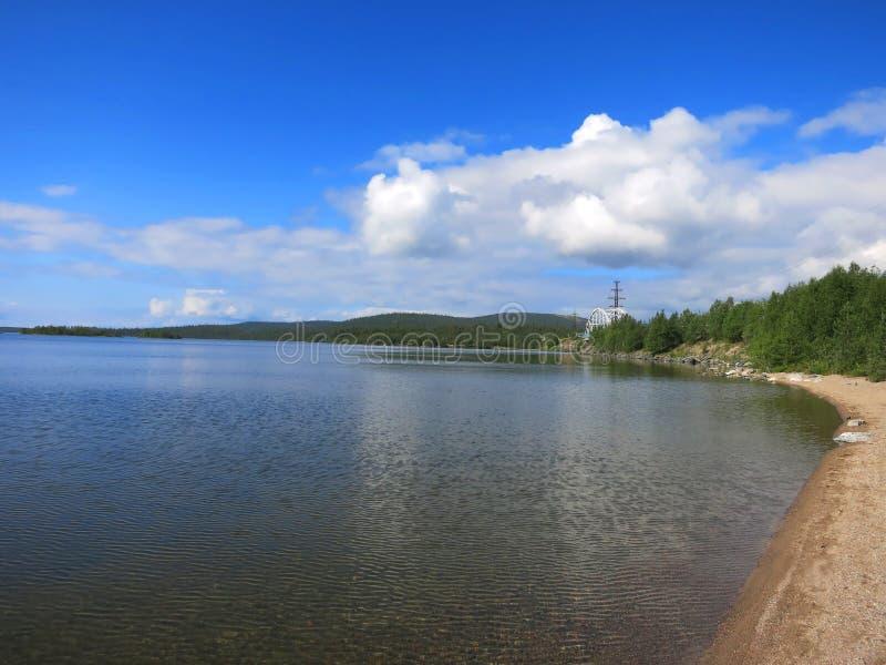 Lago Imandra imágenes de archivo libres de regalías