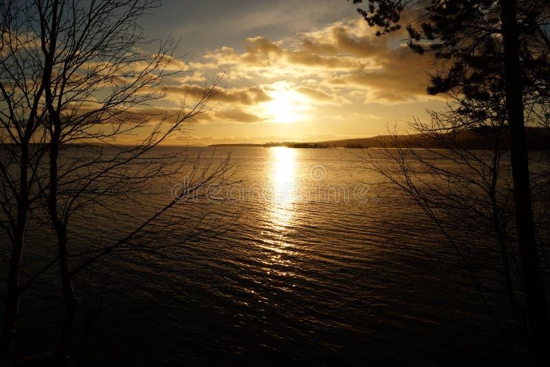 Lago Imandra fotografia de stock royalty free
