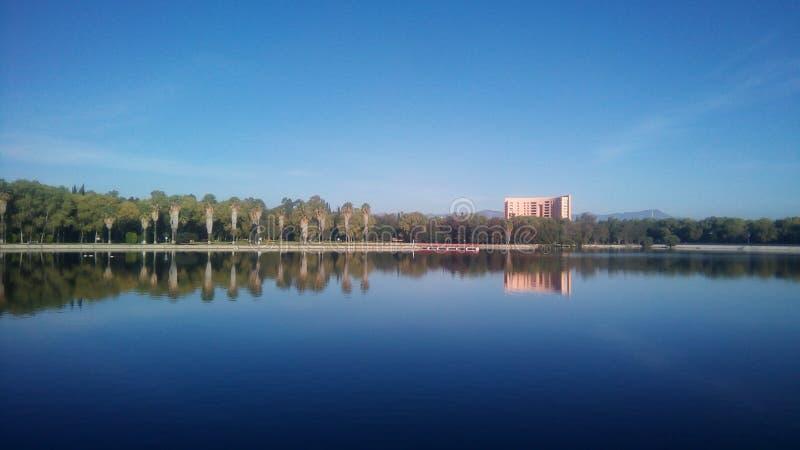 Lago impresionante fotografía de archivo