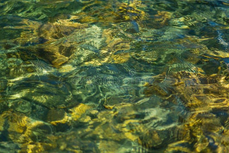 Lago incontaminato del ghiacciaio nelle alpi fotografia stock libera da diritti
