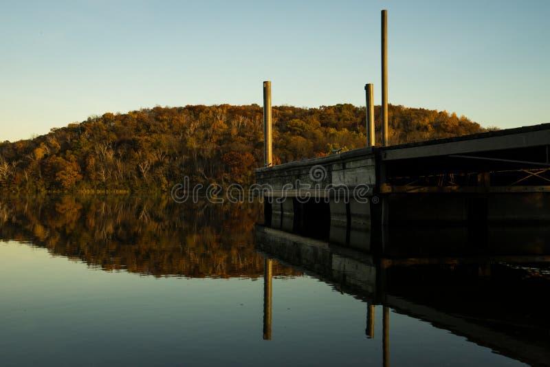 Lago indio, WI foto de archivo