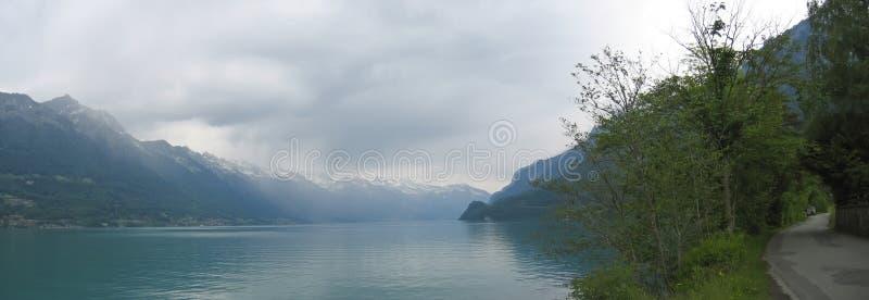 Lago Interlaken fotos de archivo libres de regalías