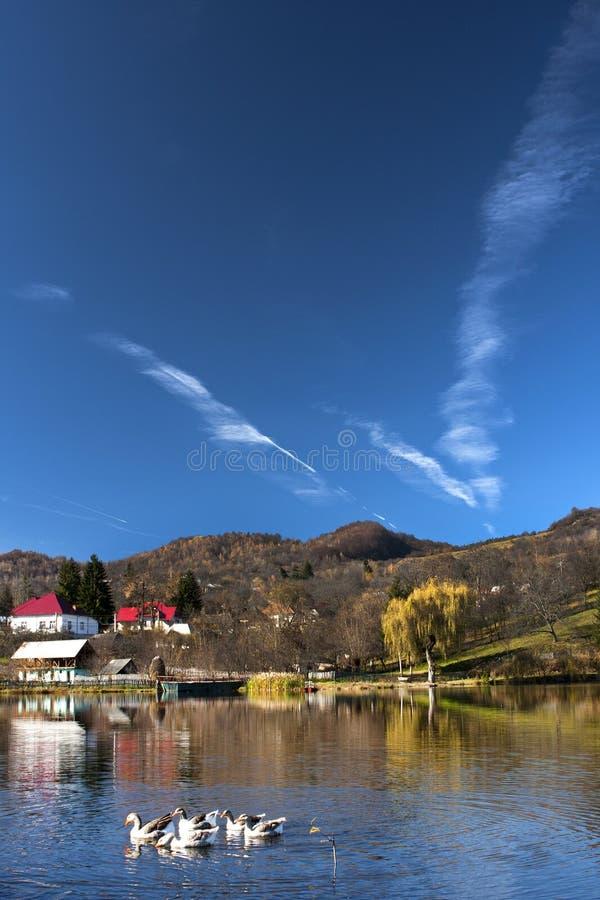 Lago Invartita immagini stock