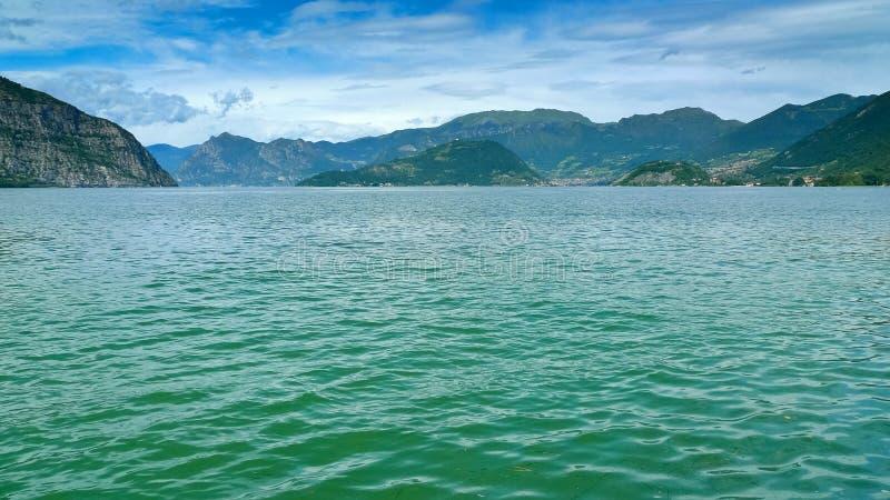 Lago Iseo fotografía de archivo libre de regalías