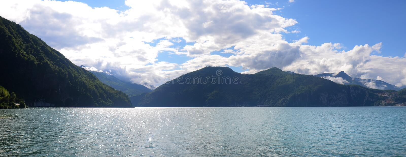 Lago Iseo foto de stock royalty free