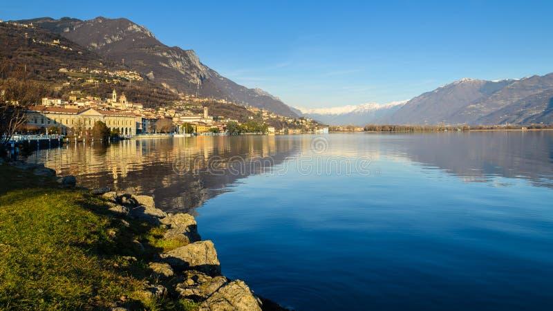 Lago Iseo imagen de archivo libre de regalías