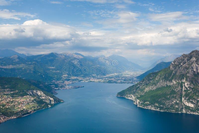 Lago Iseo, Italia foto de archivo