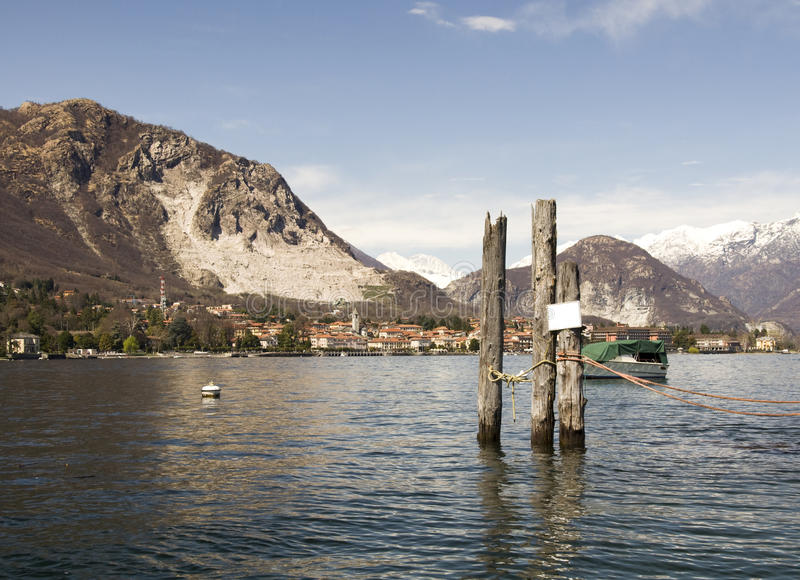 lago isola bella maggiore στοκ φωτογραφίες με δικαίωμα ελεύθερης χρήσης