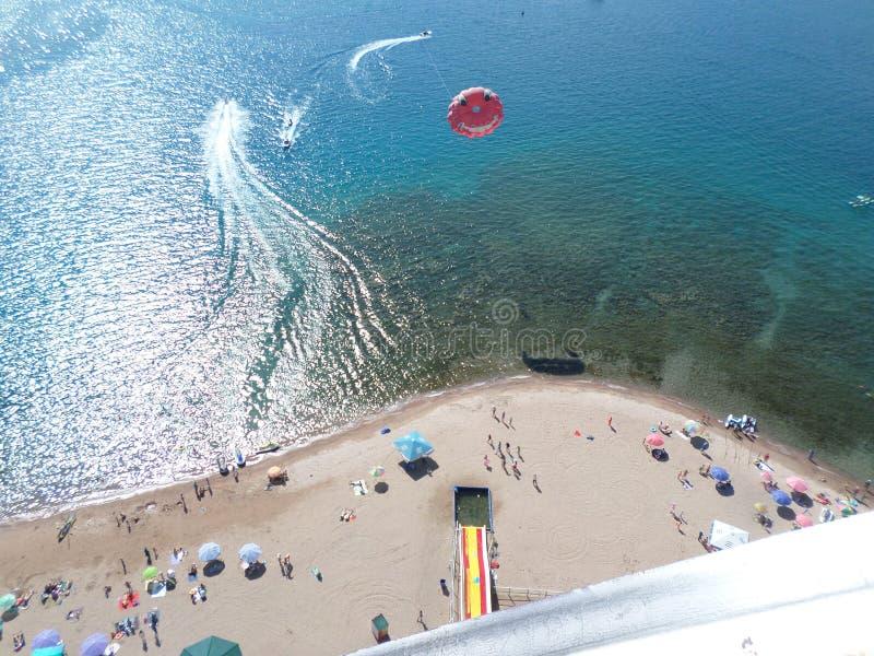Lago Issyk-Kul, Kirghizistan immagini stock libere da diritti