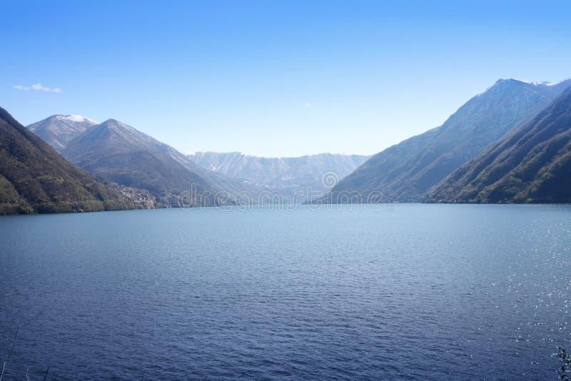 Lago italiano Como imágenes de archivo libres de regalías