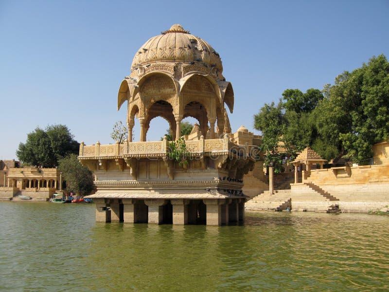 Lago Jaisalmer fotografía de archivo libre de regalías