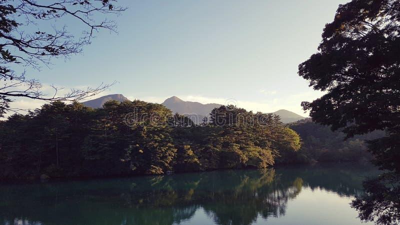 Lago japão imagem de stock
