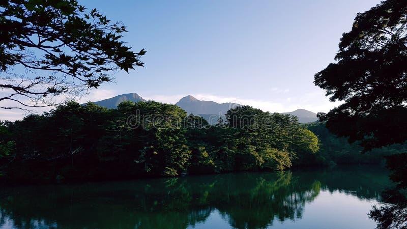 Lago japão foto de stock royalty free