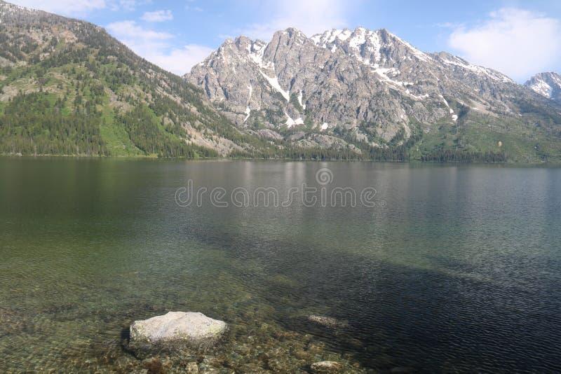 Lago jenny dos EUA fotografia de stock royalty free