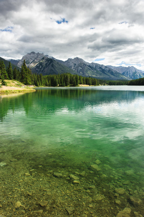 Lago Johnson immagine stock libera da diritti