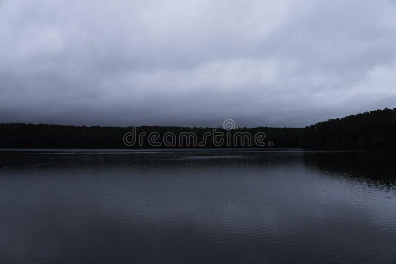 Lago Johnson foto de stock