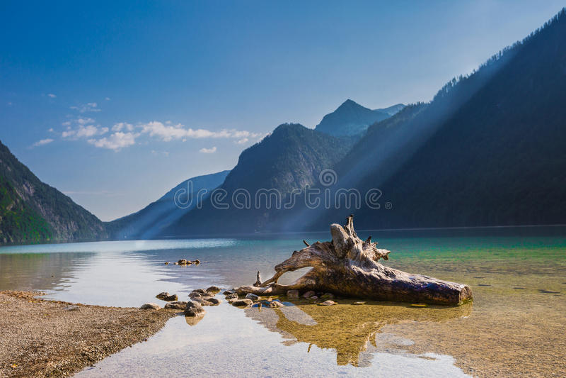 Lago Königssee foto de stock