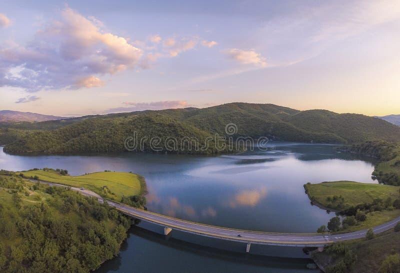 Lago Kalimanci foto de archivo