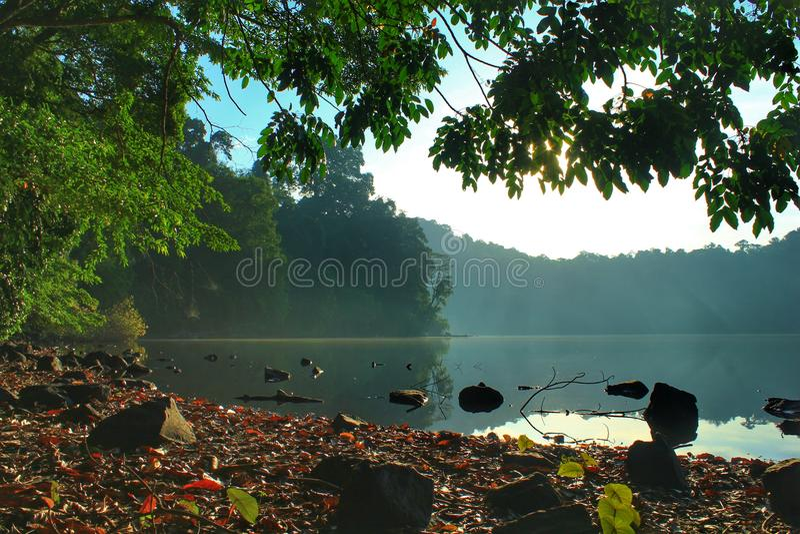 Lago Kastoba imagen de archivo