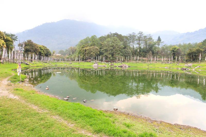 Lago Kathok imagem de stock