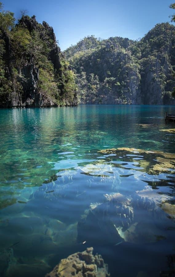 Lago Kayangan fotografia stock