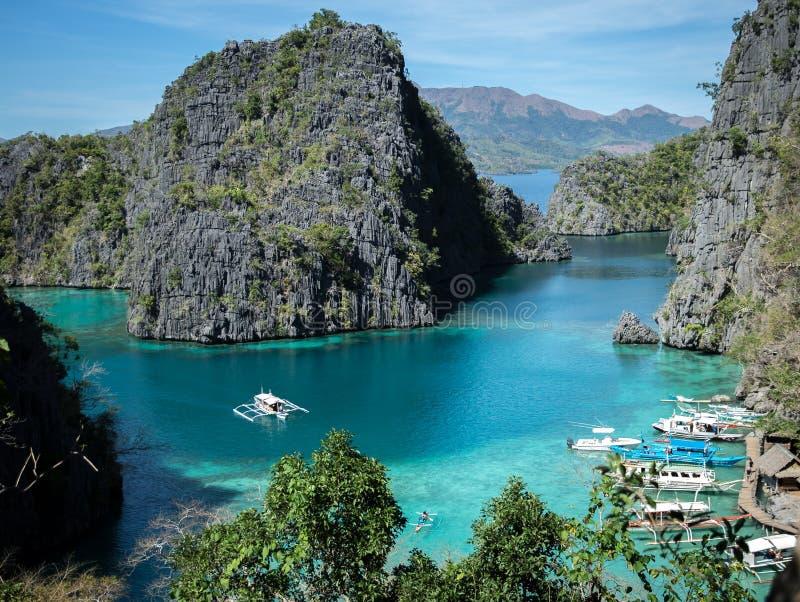 Lago Kayangan immagine stock