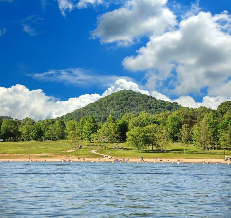 Lago Kentucky los E.E.U.U. run de la cueva fotos de archivo libres de regalías