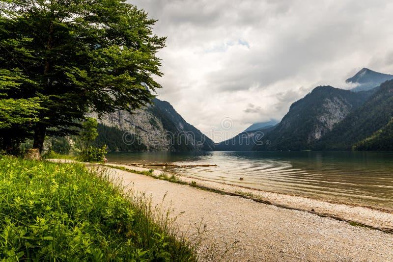 Lago Konigssee, conhecido como o ` o lago o mais profundo e o mais limpo de s de Alemanha fotografia de stock