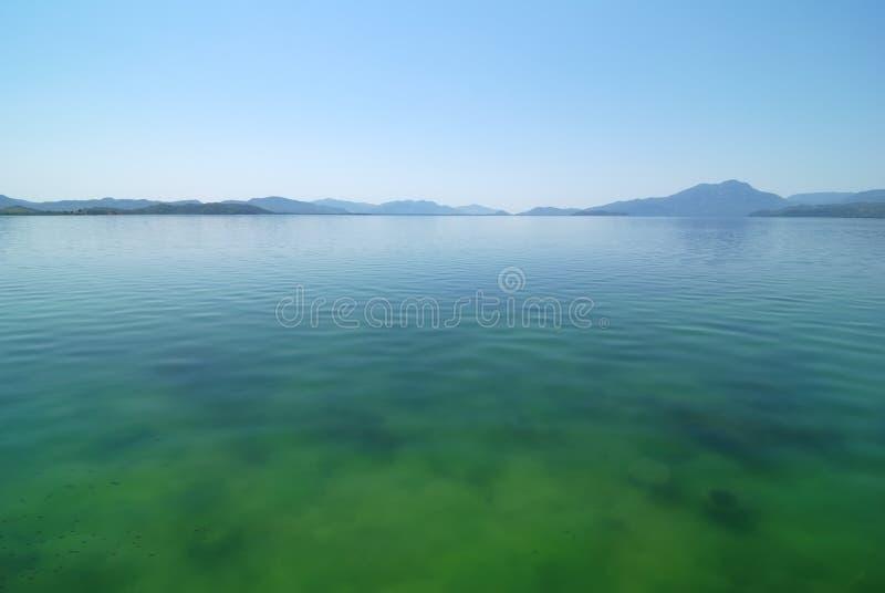 Lago Koycegiz imagen de archivo