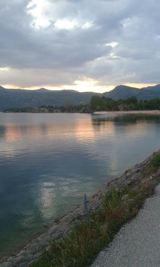 Lago Krupac imagem de stock royalty free